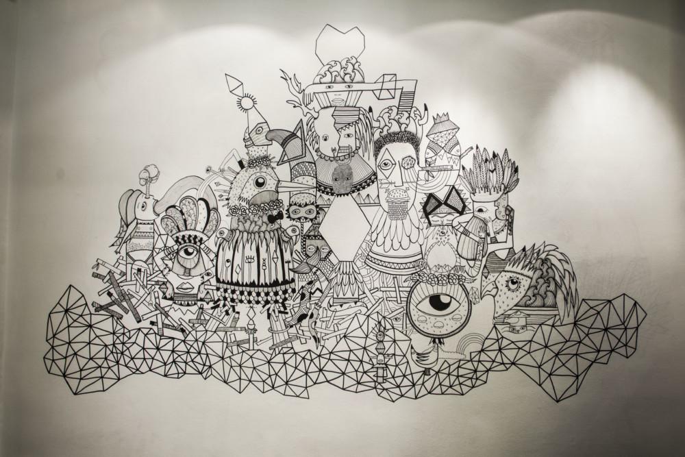 madi illustration posca