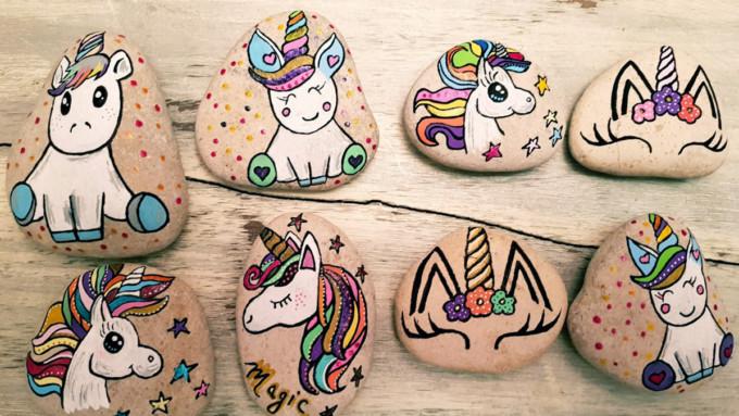 Licorne_unicorn_posca