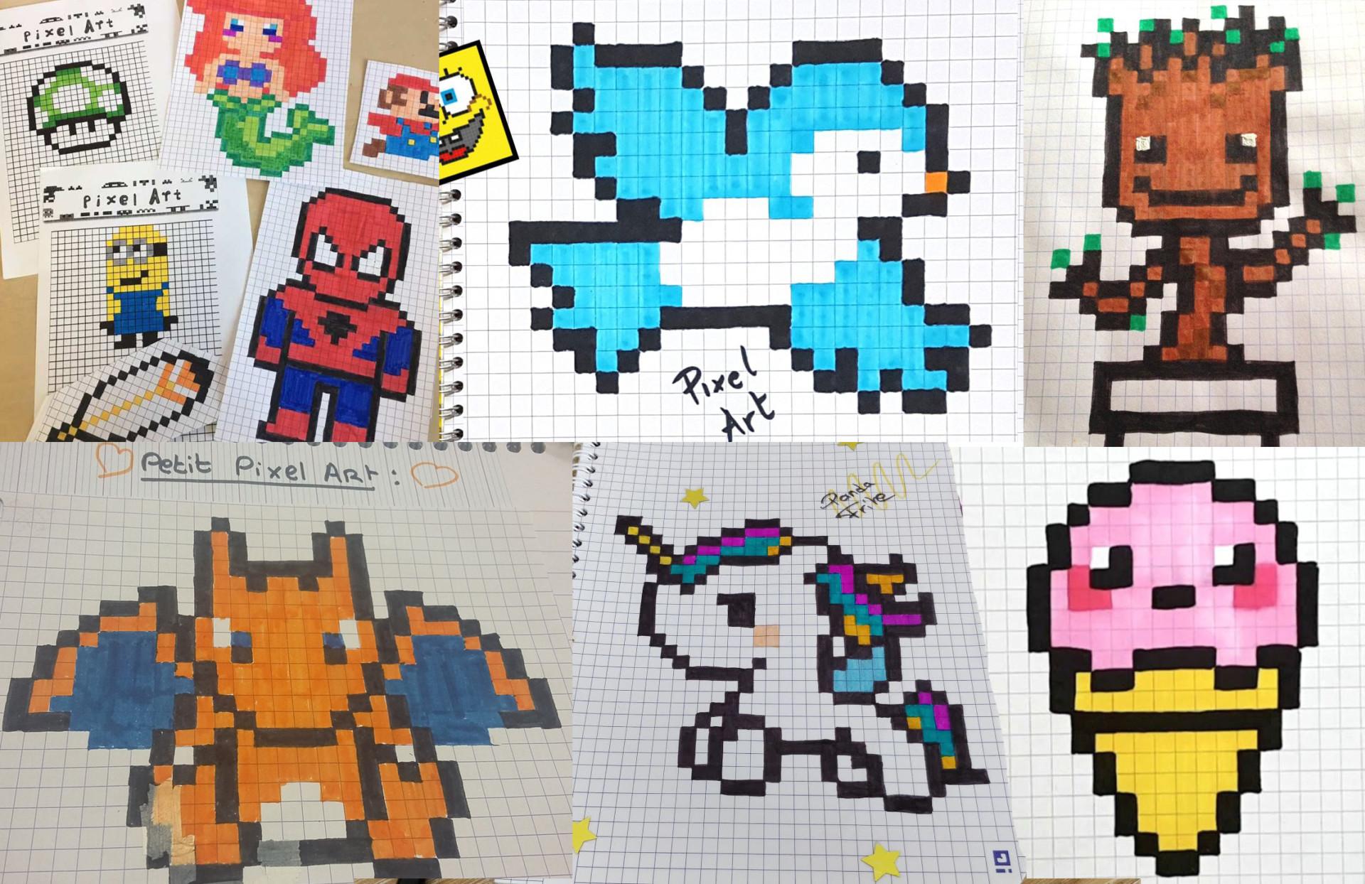 Le Pixel Art Qu Est Ce Que C Est Posca Posca